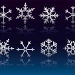 Snowflakes — Stock Vector #7780117