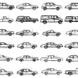 Old cars — Stock Photo #7783867