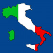 Italy map — Stock Photo #7784213
