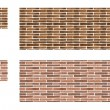 Roman brick — Stock Photo