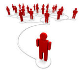 Network of - Communication Links — Stock Photo