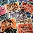 Stamp from the inflation — Stock Photo