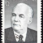 Soviet Russia Postage Stamp Wilhelm Pieck President East Germany — Stock Photo