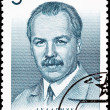 Soviet Russia Post Stamp Botanist Nikolai Vavilov Portrait Man - Stock Photo