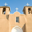 San Francisco de Asis Church Mission Ranchos Taos - Stock Photo