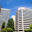 High Rise Office Buildings Rossyln Virginia USA — Stock Photo