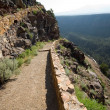Hiking Path Rio Grande River Gorge Near Taos NM — Stock Photo
