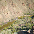 Stock Photo: Rio Grande River Gorge, North Central New Mexico