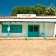 Grocery Store Turquoise Santa Fe New Mexico South Western Style — Stock Photo