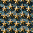 Gold Stars on Wall National World War II Memorial — Stock Photo