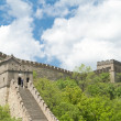 Mutianyu Great Wall, Blue Sky, Near Beijing, China - Stock Photo