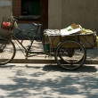 Stock Photo: Three Wheeled Bike Trike Cart Transportation China