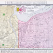 Street Map Kansas City Missouri Kansas City Kansas — Stock Photo #7895560