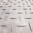 Full Frame Crisscrossed Non Skid Metal Surface — Stock Photo