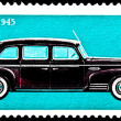 Stock Photo: Soviet RussiZIS 110 Limousine Automobile Car