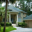 Secluded Single Family Home Hilton Head Island, South Carolina - Stock Photo