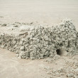Drip Sand Castle on a Beach Hilton Head, South Carolina — Stock Photo