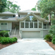 Modern Upscale Single Family House in Hilton Head, South Carolin - Stock Photo