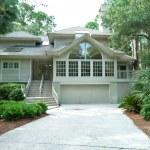Modern Upscale Single Family House in Hilton Head, South Carolin — Stock Photo