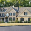 Newly Built Single Family Home in Suburban Philadelphia, Pennsyl - Stock Photo