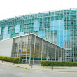 Modern Glass Building World Meteorological Organization Geneva S — Stock Photo
