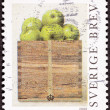 Stamp Philip Von Schantz Peck Green Apples Box - Stock Photo