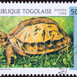 Stock Photo: Canceled TogPostage Stamp Vietnamese Box Turtle CuorGalbini