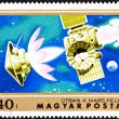 Stamp Mars Bound Space Probe Rocket Separation — Foto de stock #7897435