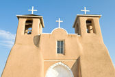 San Francisco de Asis Church Mission Ranchos Taos — Stock Photo
