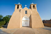 San Francisco de Asis Church Mission Ranchos Taos Adobe — Stock Photo