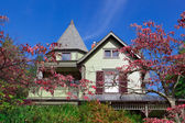 Suburban Single Family House Victorian Queen Anne — Stock Photo