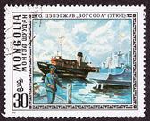 Cevegshava mistrza malarstwa łodzi rybackich, port stacji dokującej — Zdjęcie stockowe