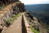 Hiking Path Rio Grande River Gorge Near Taos NM — Stock Photo