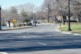 S Curve Road Early Spring Washington Tidal Basin — Stock Photo