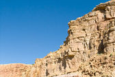 Crumbling Sandstone Cliff Side Near Abiquiu, New Mexico — Stock Photo