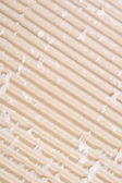 Corrugated Cardboard Diagonal Groove Ridge Lines — Stock Photo