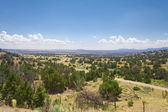 High Desert South of Santa Fe, New Mexico — Stock Photo