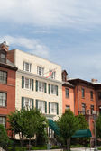 Blair House Canadian Flag Row Home Washington DC — Stock Photo