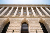 Imposing Facade of IRS Building Washington DC USA — Stock Photo