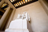 Lincoln Memorial Statue Washington DC USA — Stock Photo