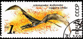 Flying Sordes Pterosaur Jurassic Period — 图库照片