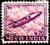 Indiska flygande folland gnat jaktflygplan — Stockfoto