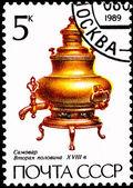 Viejo samovar en forma de pera — Foto de Stock