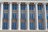 Columns and Windows, Federal Building Washington DC — Stock Photo