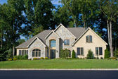 Newly Built Single Family Home in Suburban Philadelphia, Pennsyl — Stock Photo