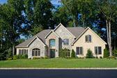Newly Built Single Family Home in Suburban Philadelphia, Pennsyl — Stock Photo