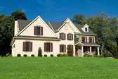 New Colonial Style House Suburban Philadelphia — Stock Photo