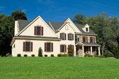 New Colonial Style House Suburban Philadelphia — Stock Photo