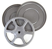 Vintage Metal 8MM Movie Reel and Case Tin — Stock Photo