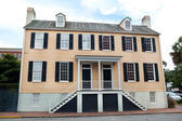 Georgian Style Duplex House in Savannah Georgia — Stock Photo